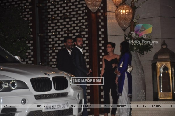 Dia Mirza and Sahil Sangha were at Nita Ambani's Birthday Bash