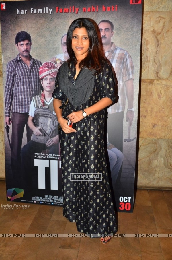 Konkona Sen Sharma at the Special Screening of Titli