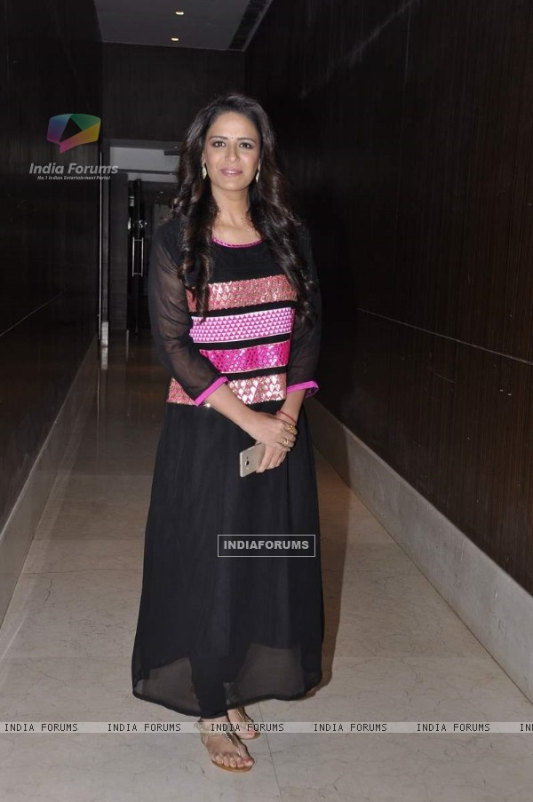 Mona Singh at the Launch of 'Pyar Ko Ho Jane Do'