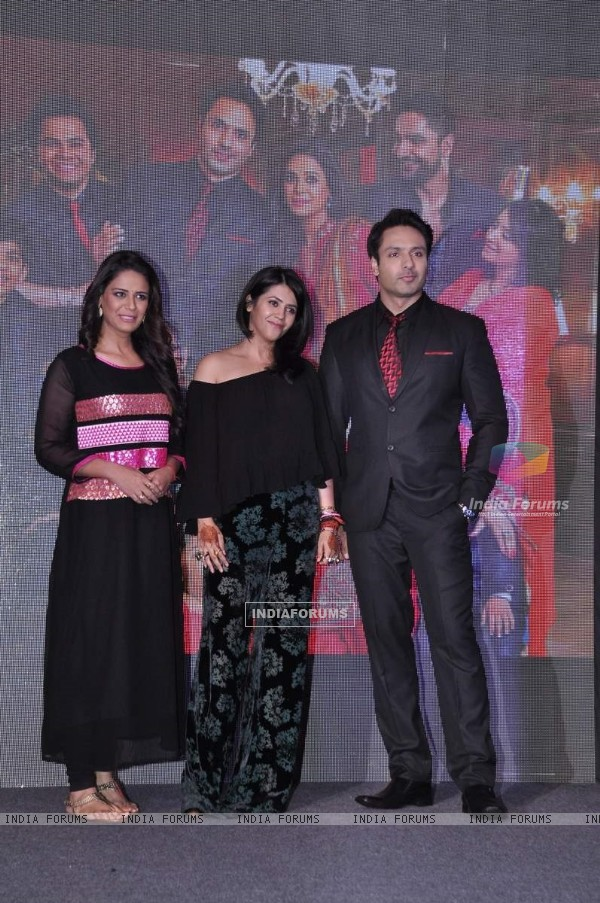 Team at the Launch of 'Pyar Ko Ho Jane Do'