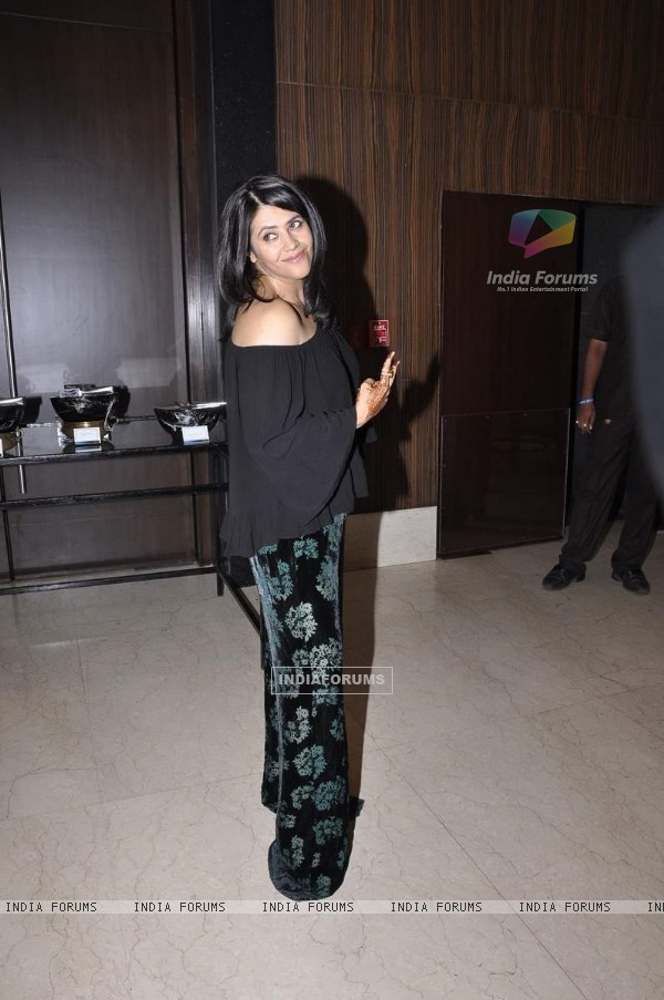 Ekta Kapoor at the Launch of 'Pyar Ko Ho Jane Do'