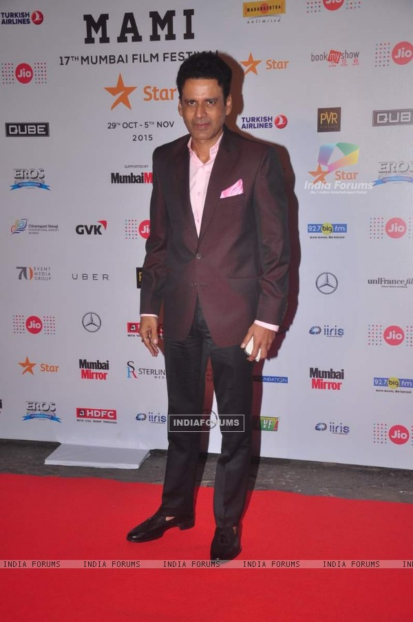 Manoj Bajpai at MAMI Film Festival Day 1