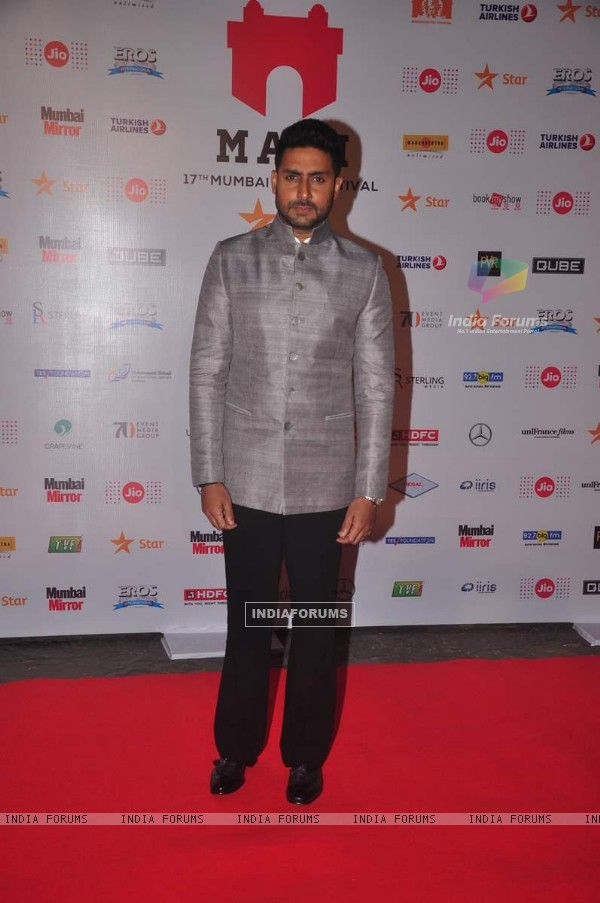 Abhishek Bachchan at MAMI Film Festival Day 1