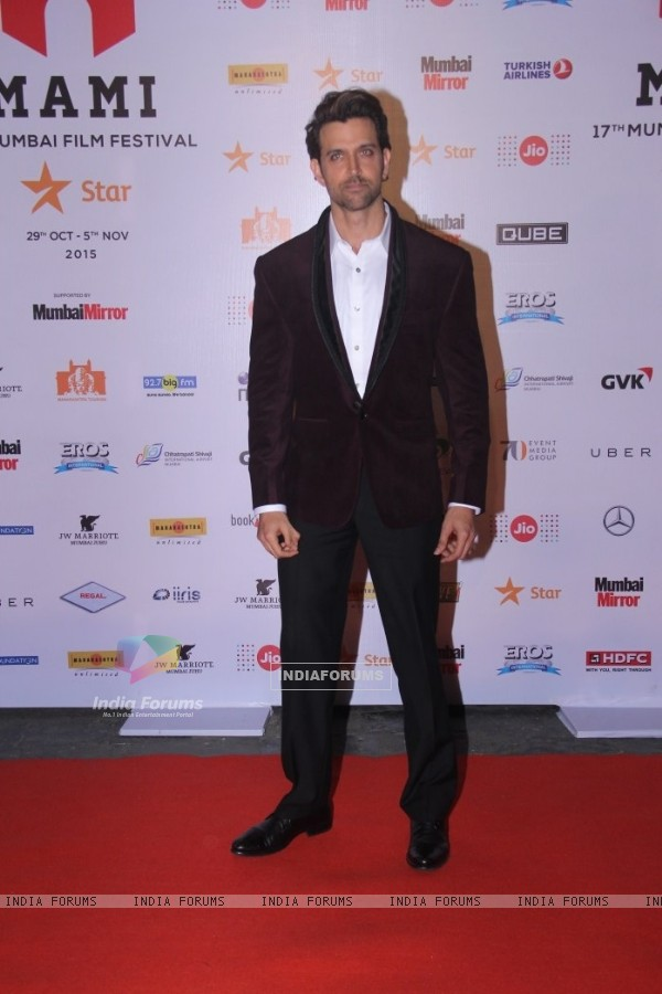 Hrithik Roshan at MAMI Film Festival Day 1
