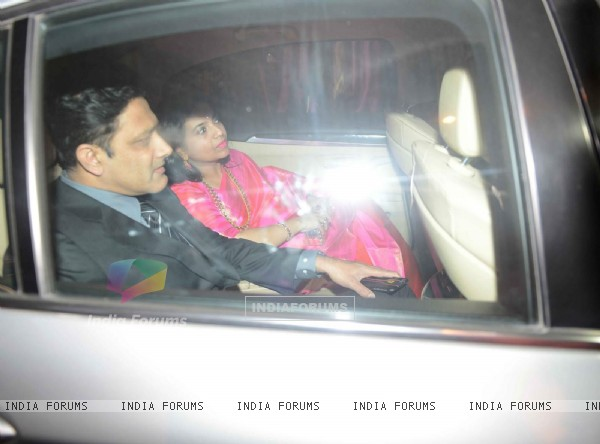 Anil Kumble at Harbhajan Singh - Geeta Basra Wedding Reception