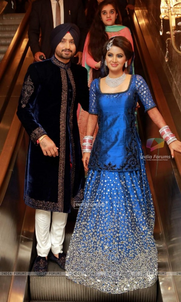 Harbhajan Singh - Geeta Basra Wedding Reception