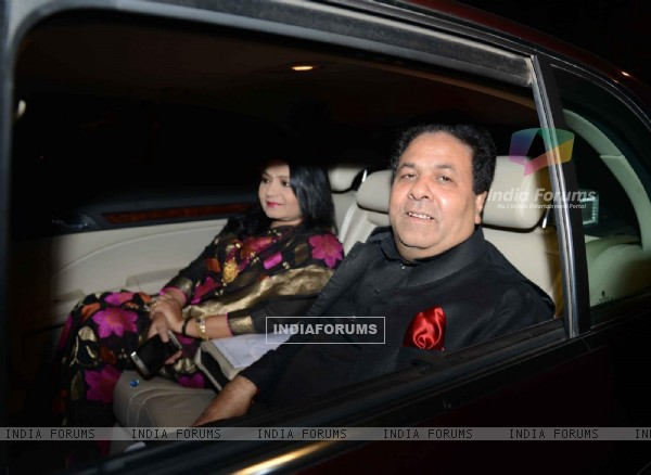 Rajiv Shukla at Harbhajan Singh - Geeta Basra Wedding Reception