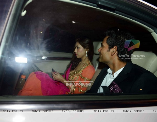 Mohammad Kaif at Harbhajan Singh - Geeta Basra Wedding Reception
