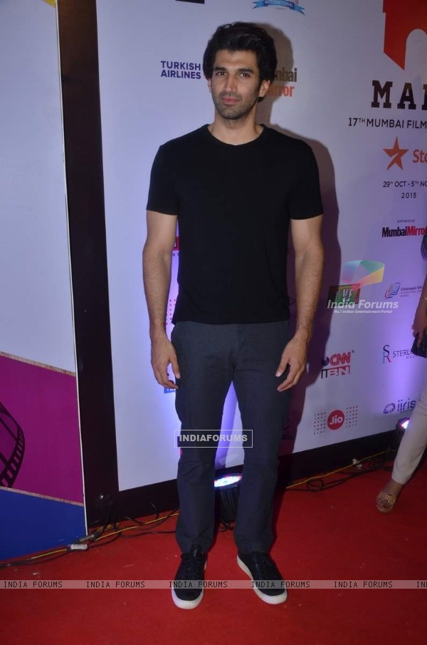 Aditya Roy Kapur at MAMI Film Festival Day 3