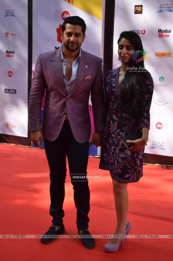 Aftab Shivdasani and Nin Dusanj at MAMI Film Festival Day 3