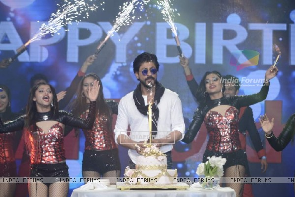 Shah Rukh Khan Celebrates His 50th Birthday
