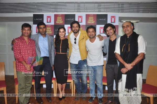 Ali Fazal and Anand Tiwari at Launch of 'Bang Baaja Baaraat' Web Series
