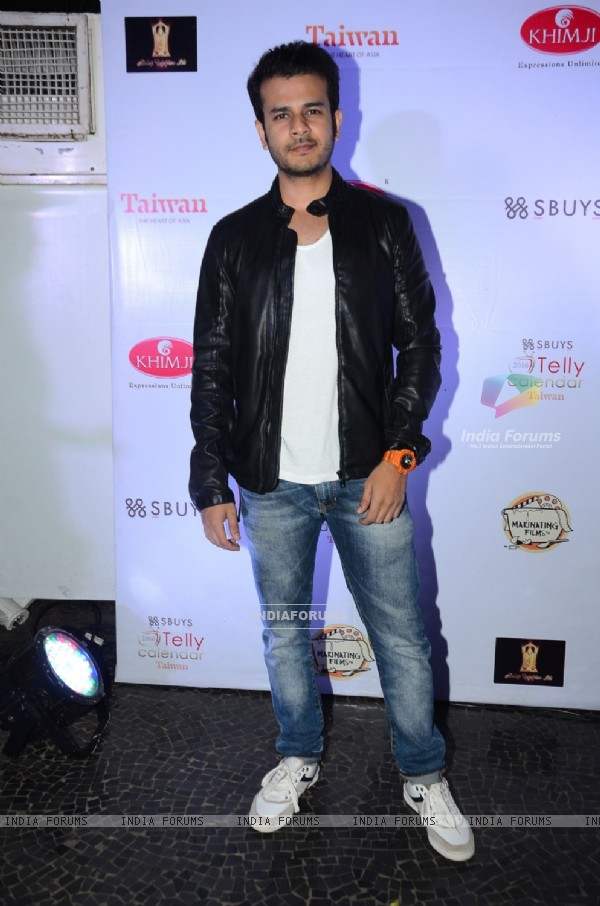 Jay Soni at Tele Calendar Launch