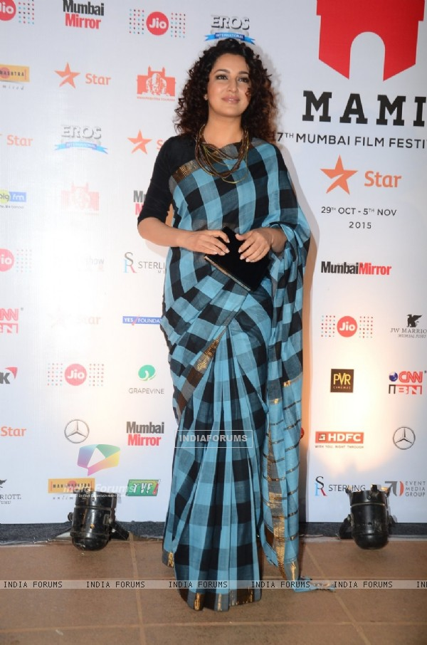 Tisca Chopra at Closing Ceremony of MAMI