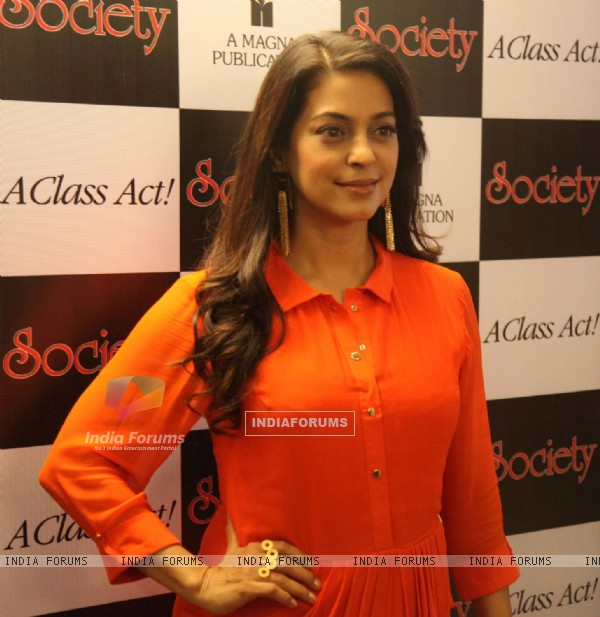 Juhi Chawla at Cover Launch of Society Magazine