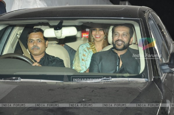 Bipasha Basu and Rocky S at Exceed Entertainment's Diwali Bash