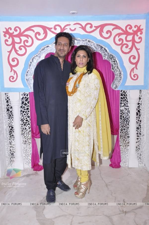Sulaiman Merechant at Sachin Joshi's Diwali Bash