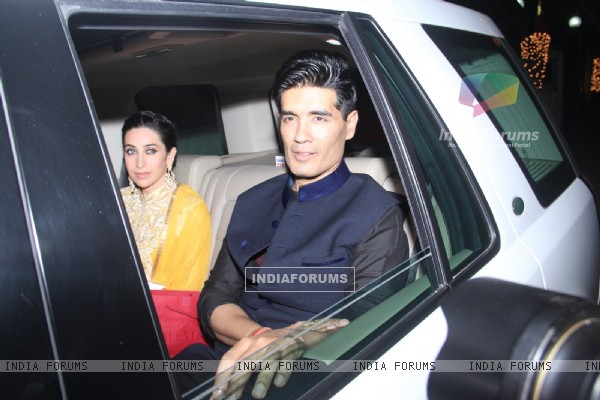Manish Malhotra at Akshay Kumar's Diwali Bash