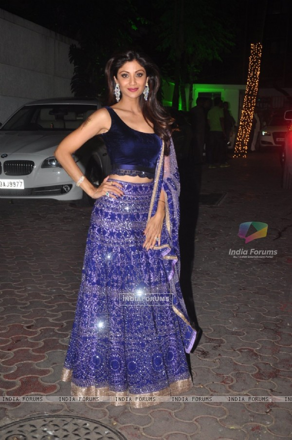 Shilpa Shetty hosted a Diwali Bash