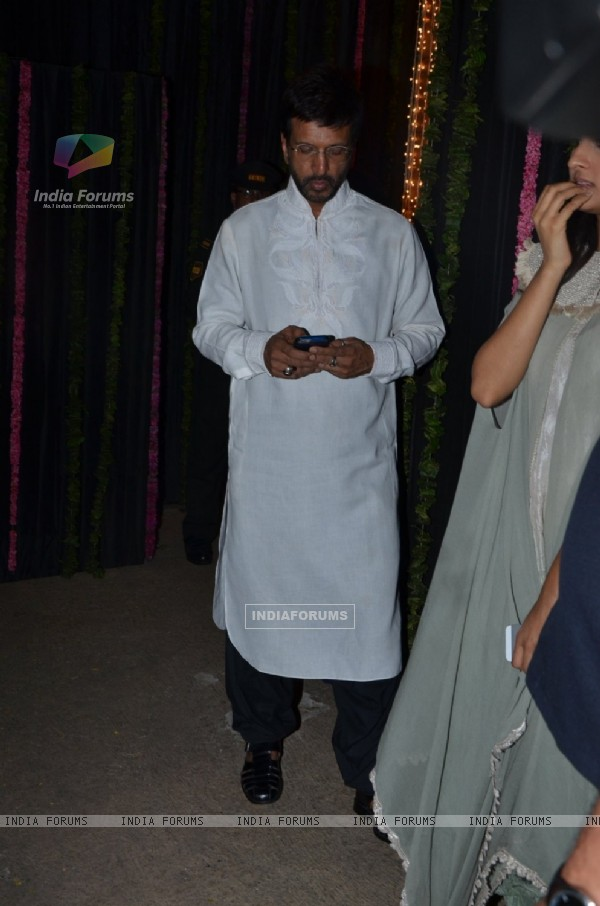 Javed Jaffery at Big B's Diwali Bash