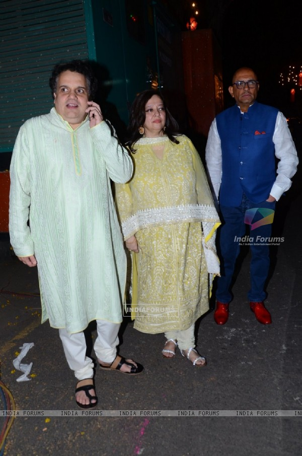 Sandeep Khosla at Big B's Diwali Bash