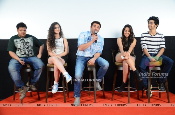 Sunny Deol at Press Meet of 'Ghayal Once Again'