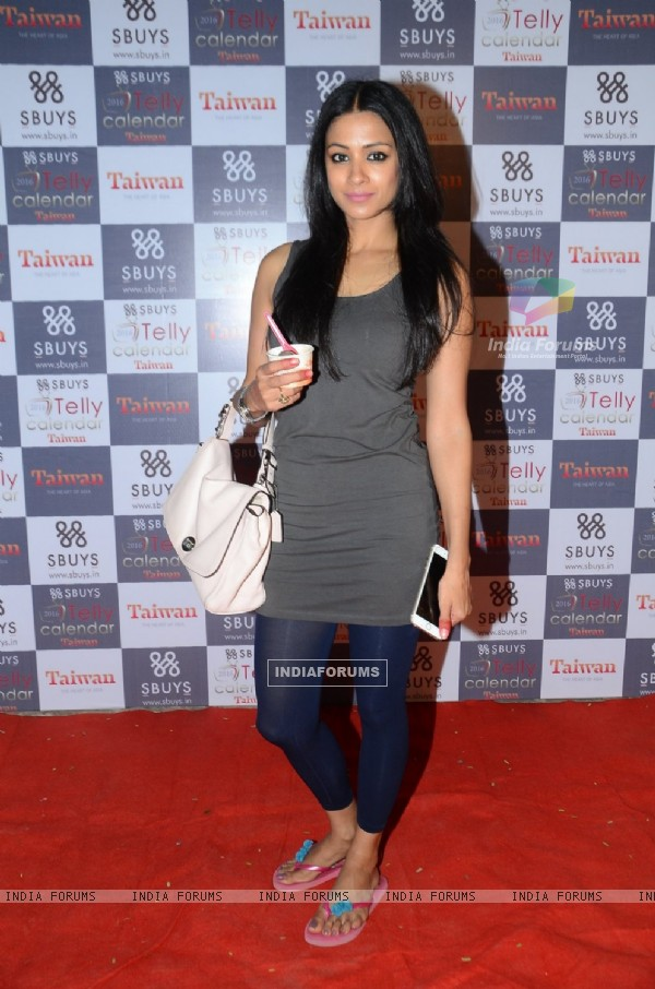 Barkha Bisht Sengupta at Launch of Sbuys Telly Calendar 2016