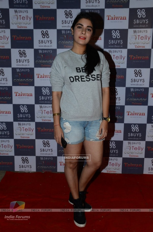Pooja Gor at Launch of Sbuys Telly Calendar 2016