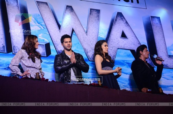 The star cast of the movie at Song Launch of 'Dilwale'