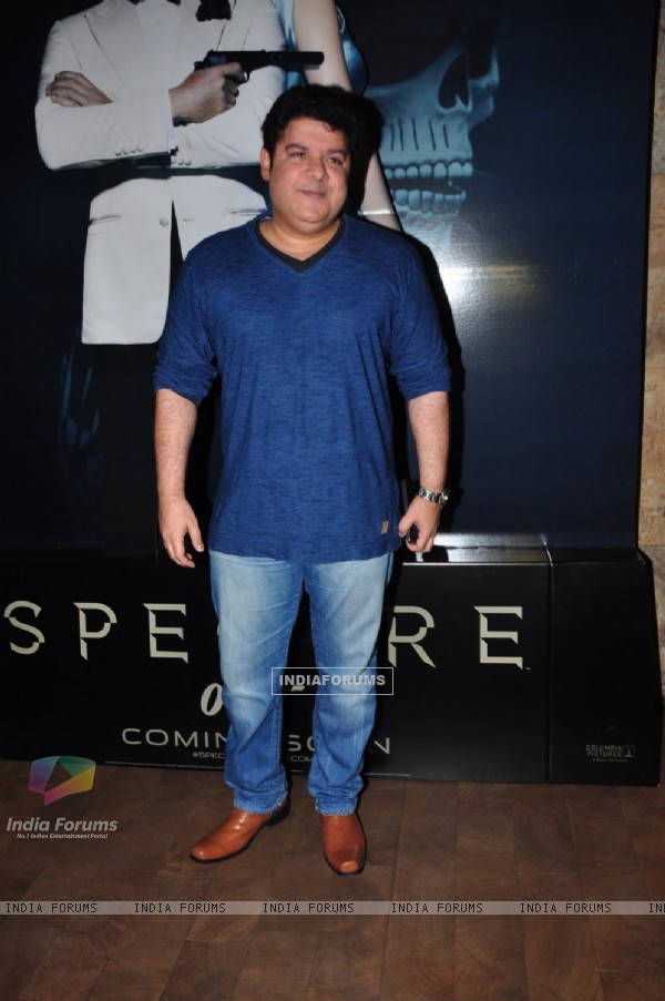 Sajid Khan at Special Screening of 'Spectre'