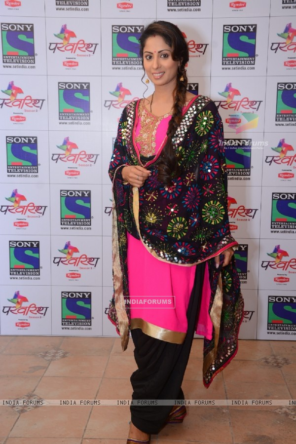 Sangeeta Ghosh at Launch of 'Parvarrish Season 2'