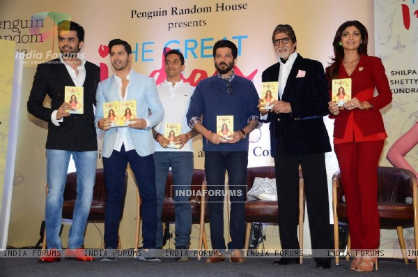 Celebs at Launch of Shilpa Shetty's Book 'The Great Indian Diet'