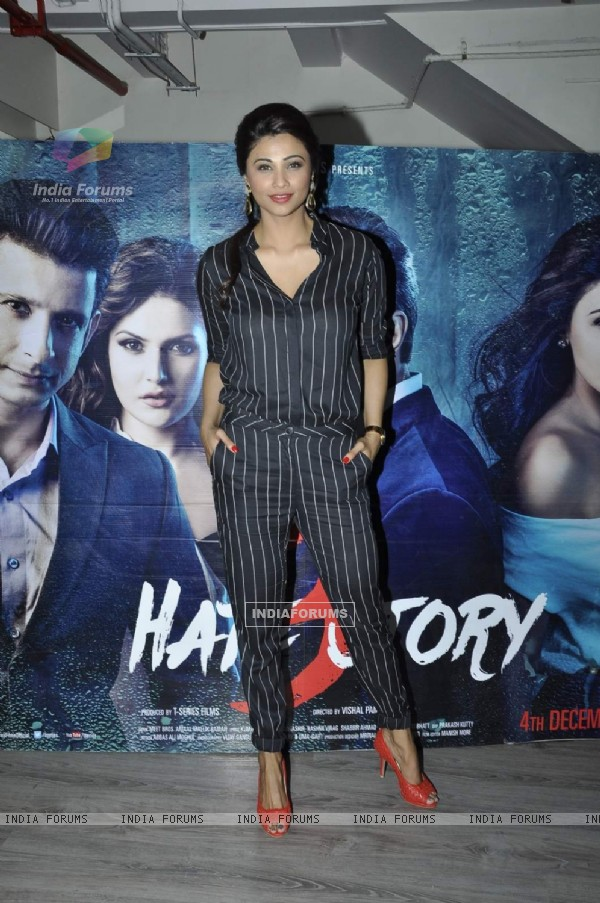 Daisy Shah at Press Meet of Hate Story 3