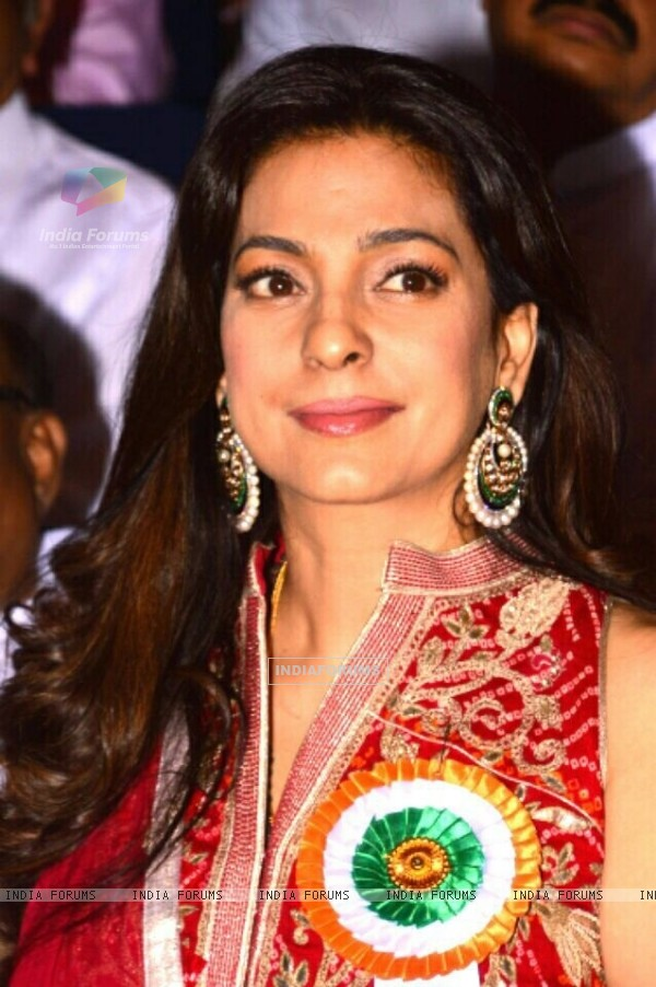 Juhi Chawla at The Indira Gandhi Memorial Award Ceremony