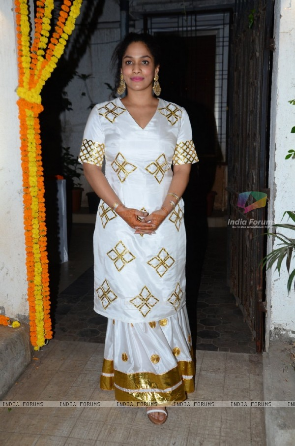 Masaba Gupta at her Mehendi Ceremony