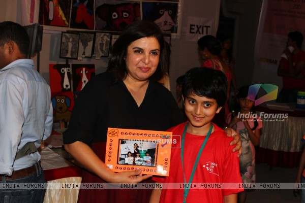 Farah Khan at 'Adoptathon' Campaign Organized to for Pet Adoption
