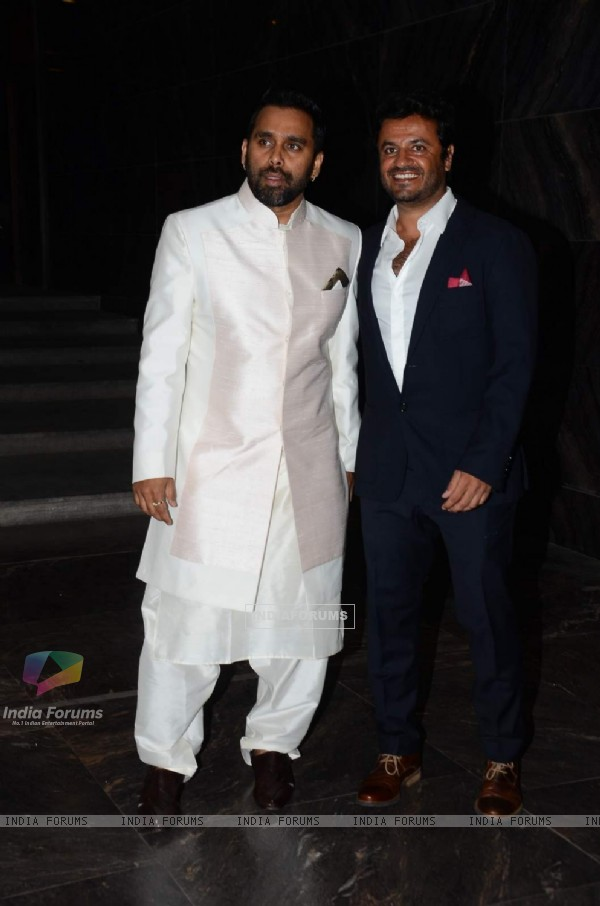 Bosco Martis and Vikas Bahl at Masaba Gupta's Wedding Reception