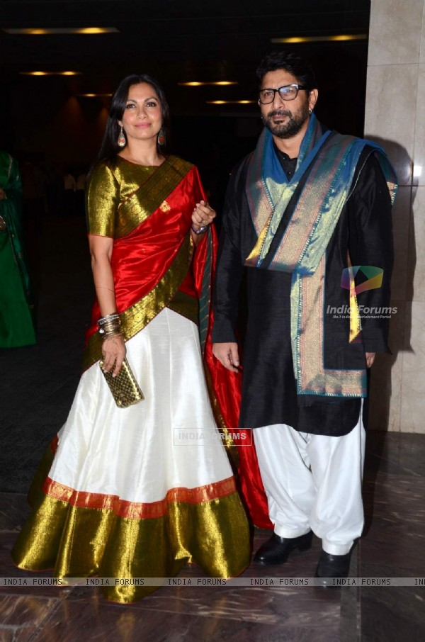 Arshad Warsi and Maria Goretti at Masaba Gupta's Wedding Reception