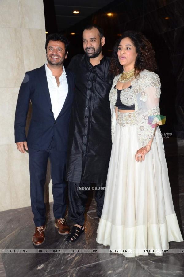 Vikas Bahl at Madhu Mantena and Masaba's Wedding Reception