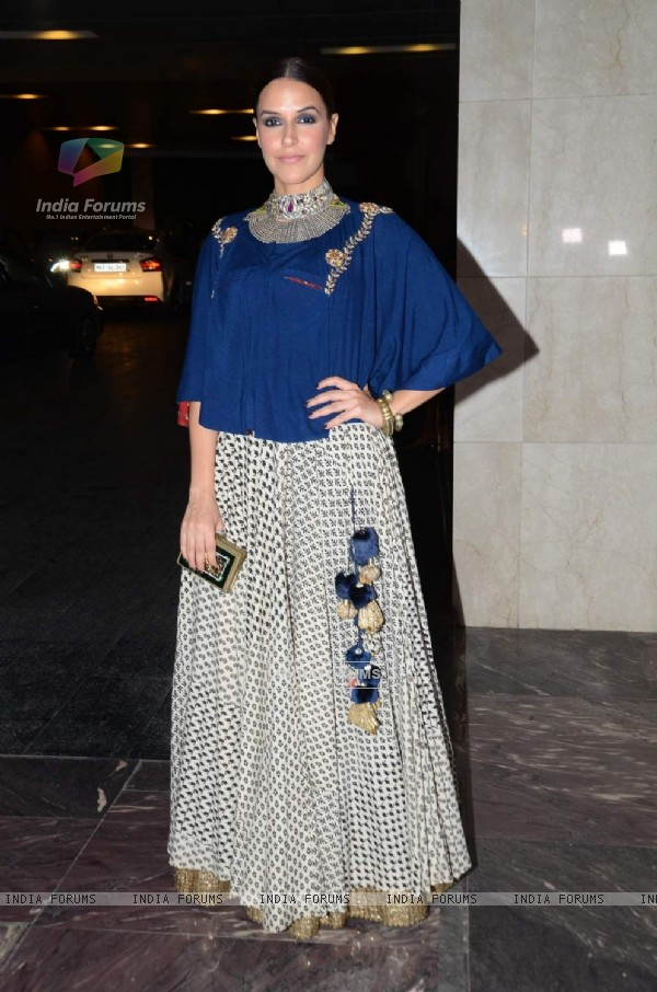 Neha Dhupia at Masaba Gupta's Wedding Reception