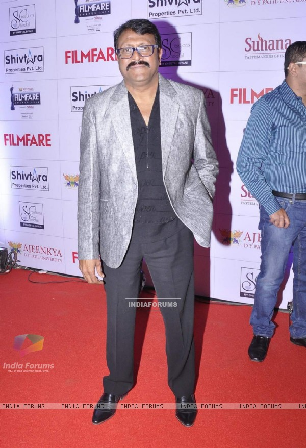 Vijay Patkar at Filmfare Awards - Marathi 2015