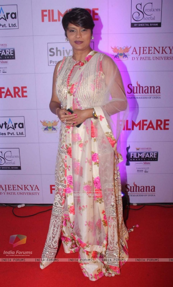 Pallavi Joshi at Filmfare Awards - Marathi 2015