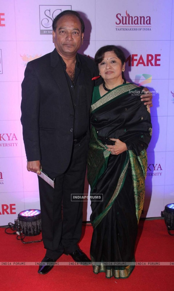 Vijay Kadam at Filmfare Awards - Marathi 2015