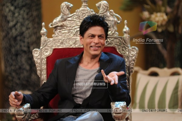 A still image of Shahrukh Khan