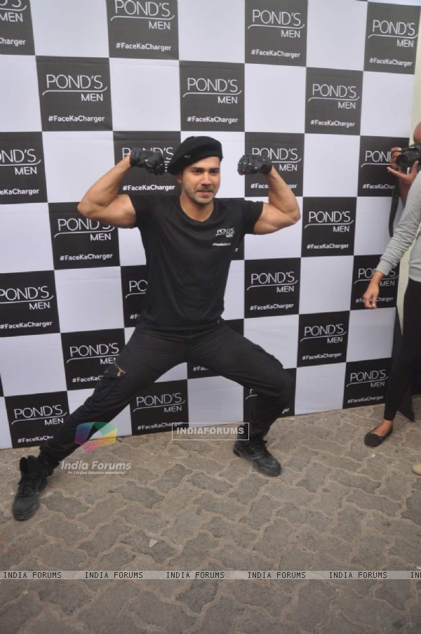 Varun Dhawan Shoots Ponds Men Ad