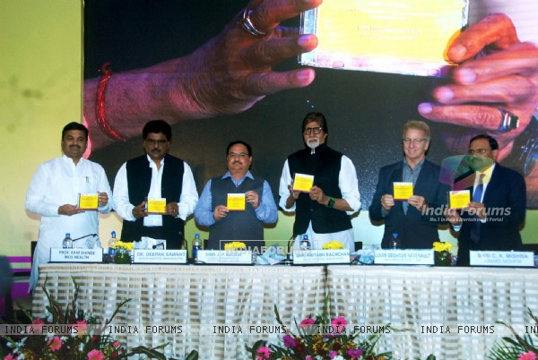 Big B at Launch of Media Campaign on Hepatitis B