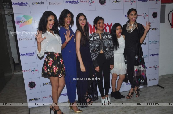 Cast of Angry Indian Goddesses at Press Meet