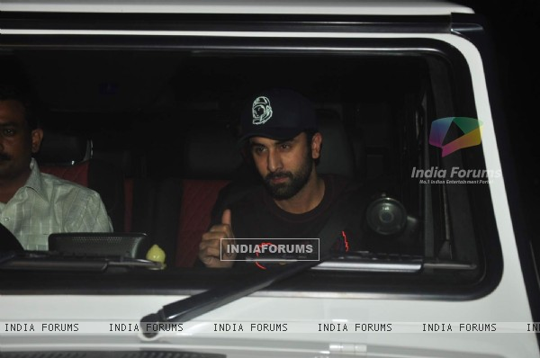 Ranbir Kapoor atSpecial Screening of 'Tamasha'