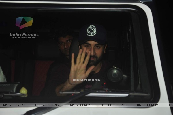 Ranbir Kapoor at Special Screening of 'Tamasha'