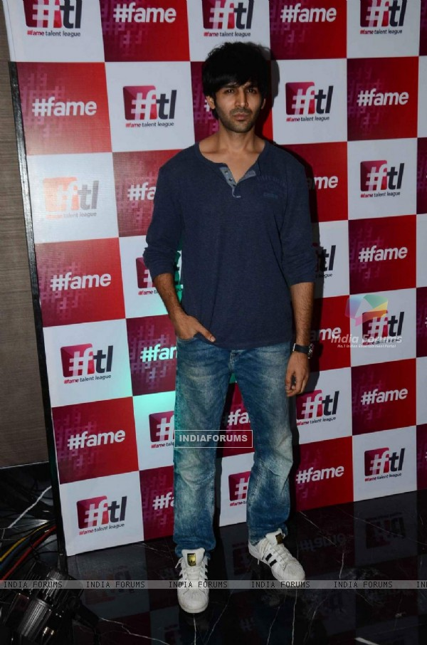 Kartik Aaryan at Launch of Fame Talent League